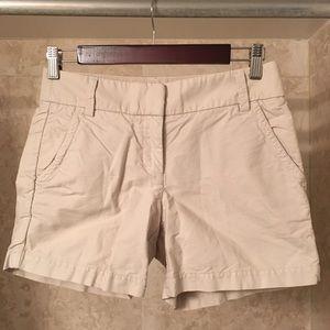 EUC J. Crew khaki shorts